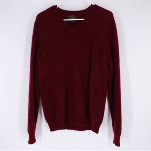 Cashmere Sweater Long Sleeve Club Room M